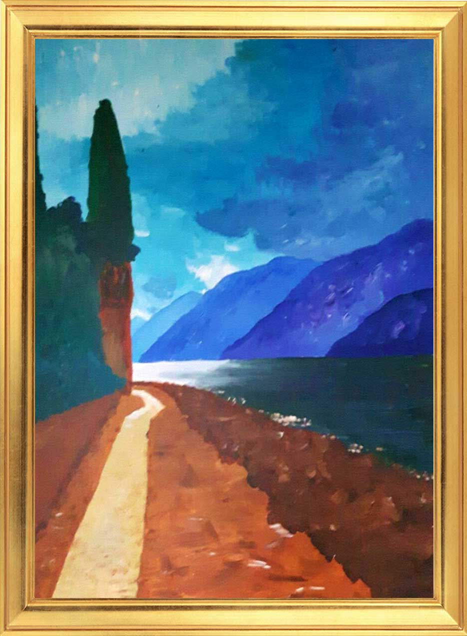 Lake Garda Italy Sinead Wyse, Greystones Art Group