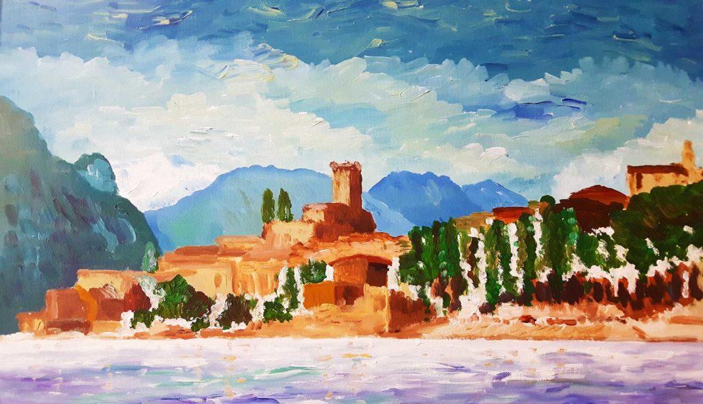 Malcesine Italy by Sinead Wyse