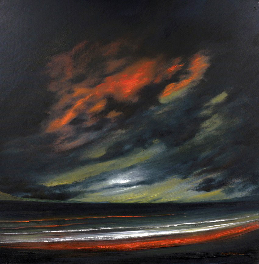 Nocturne Red Tide Anne McWilliams