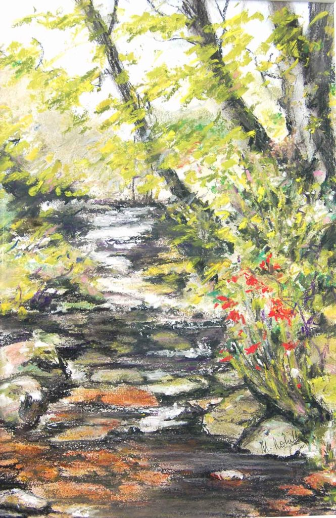 The Brook, Lord Tennyson by Mary Nohilly
