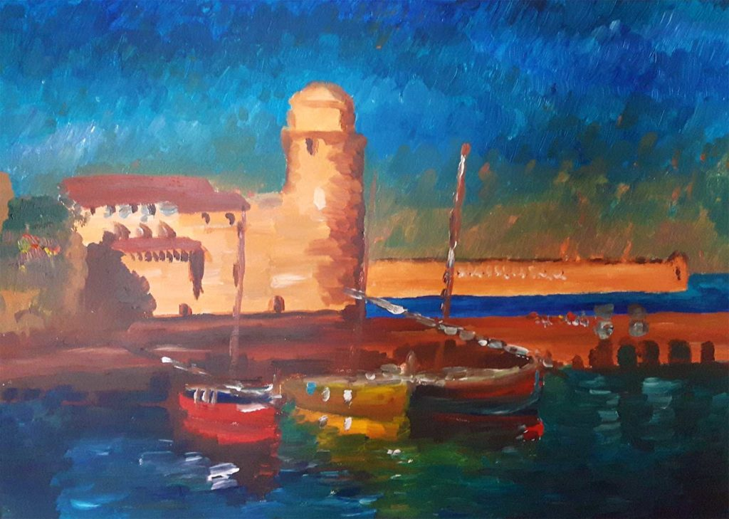 Painting in Italy Sinead Wyse