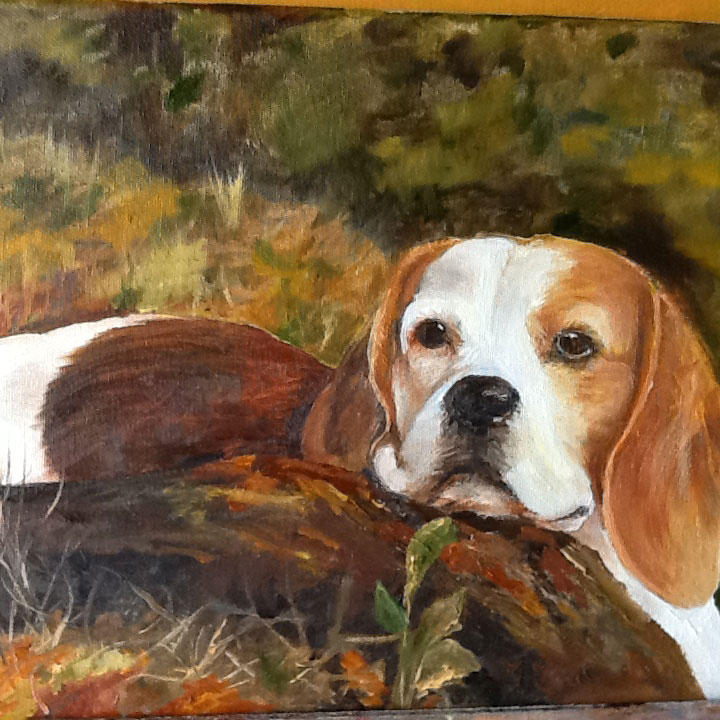 Dog Art Portrait