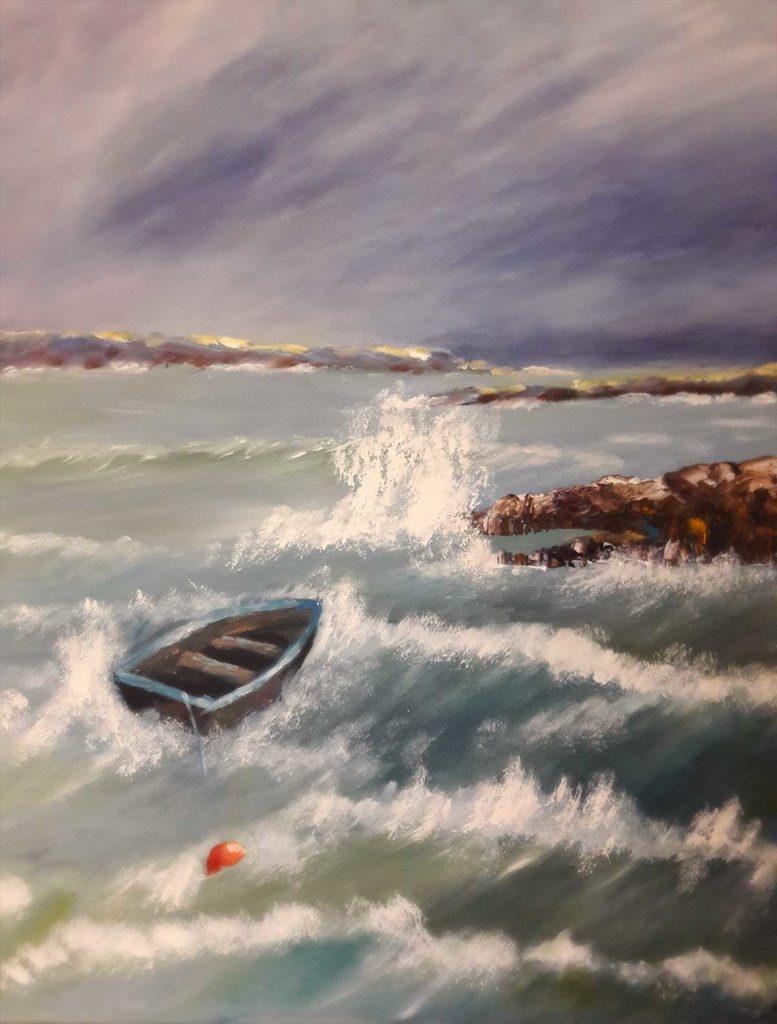 Drusilla Cleary Artist Greystones Art Group