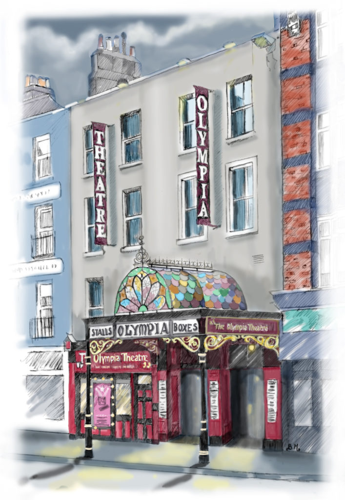 Olympia Theatre - digital illustration